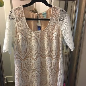 White Shift Dress by Tracy Reese from Macy's